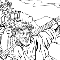 calvary chapel coloring pages | Calvary Coloring Pages