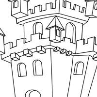 Places coloring pages