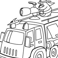Kids Coloring on Cars And Planes Coloring Pages For Kids