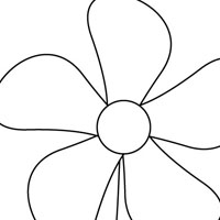 Easy Flower Coloring Pages Latest Easy Flower Coloring Pages Kids
