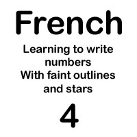 french number quattre handout