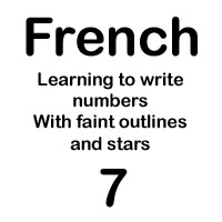 french number sept handout