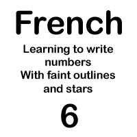 french number six handout