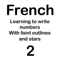 french number deux handout