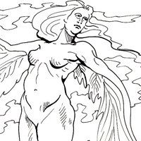 greek myth coloring pages phoenix bird u0026middot