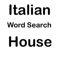 italian word search house