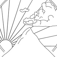 Places coloring pages for kids