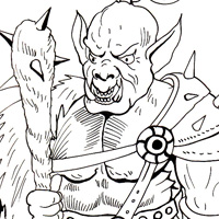 mythical creatures free coloring book for kids