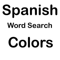 spanish word search colors