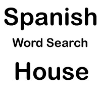 spanish word search house