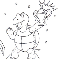 The Hare And The Tortoise Story Pg 10 Tortoise And The Hare Coloring Page