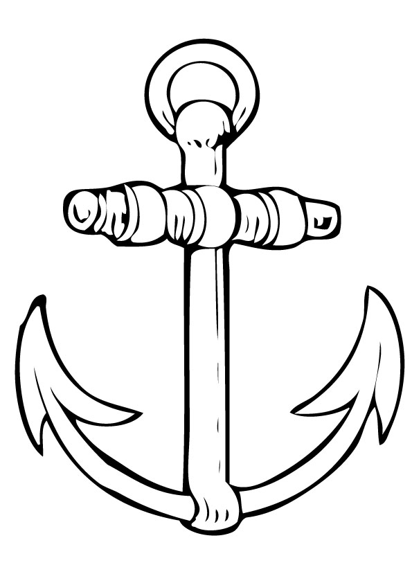 anchor drawing picture