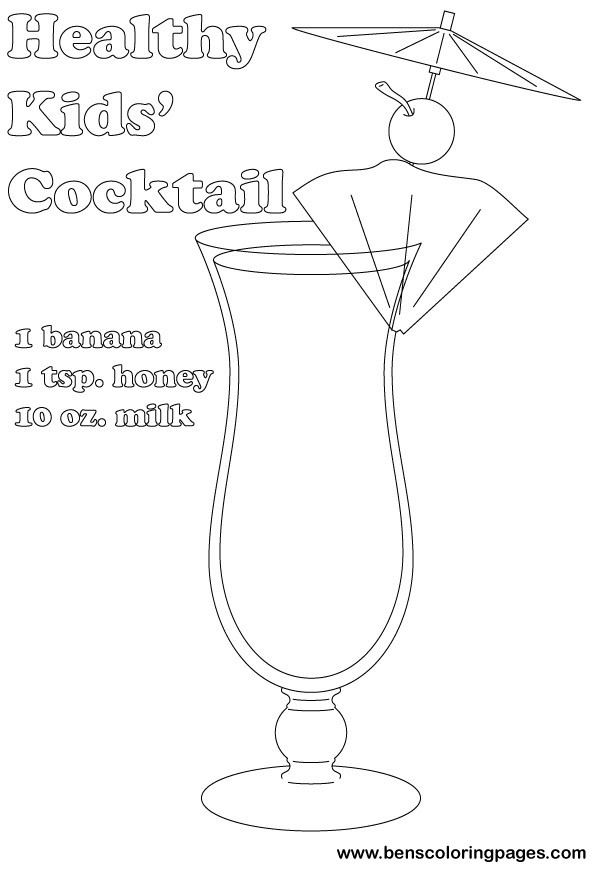 kids healthy cocktail