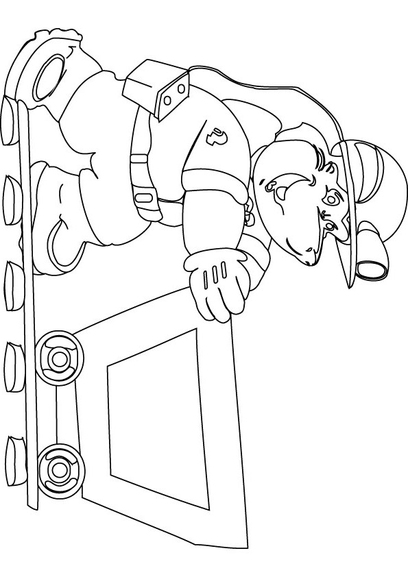 miner coloring pages - photo #2