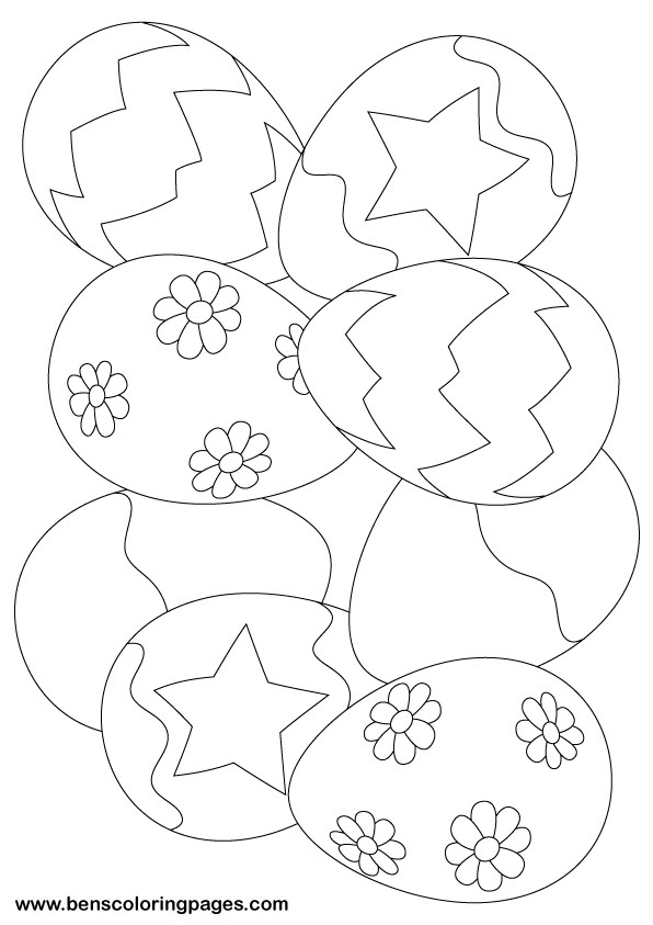 Free Easter Coloring Book Download : Best easter coloring activities for preschoole #64 unknown