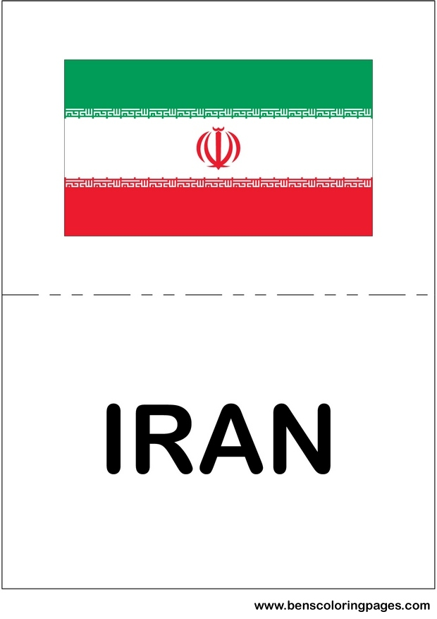 picture of iran flag