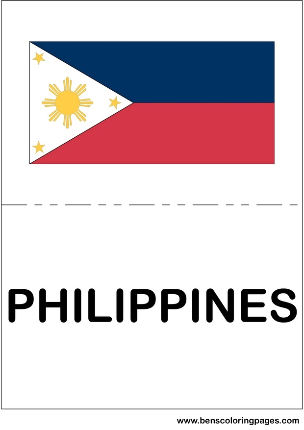 asian flag of philippines