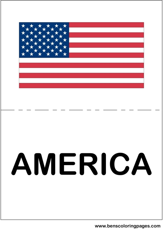 Flags of the world Flashcard for