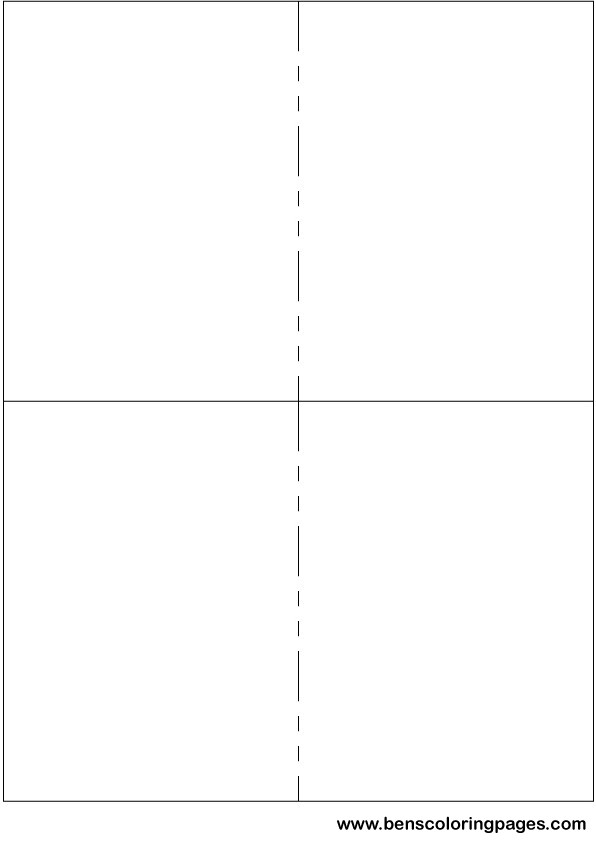 Make your own medium size flashcards using this template for Flashcard template for word