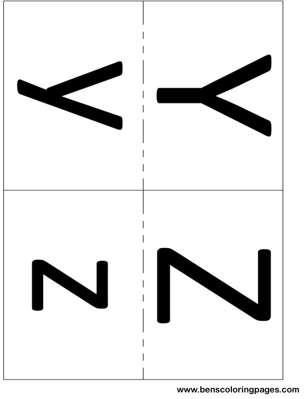 teaching alphabet printout