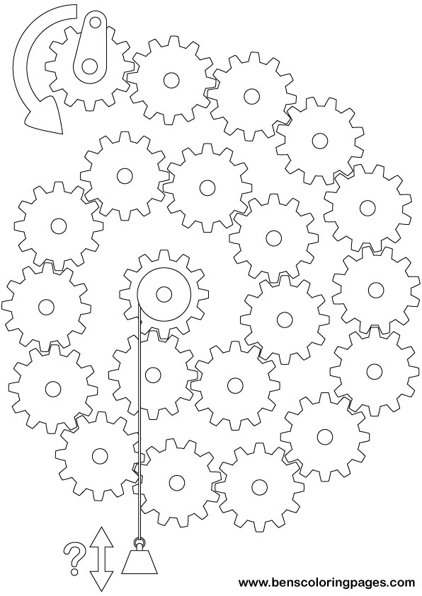 graphic about Printable Gears titled Devices Trouble 2