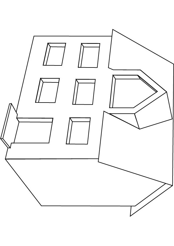 download free dolls house drawing