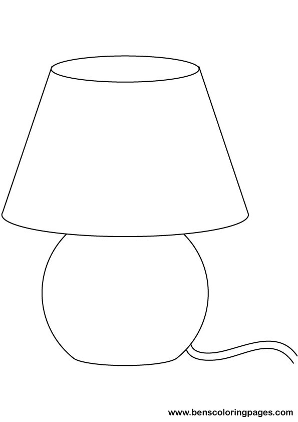 coloring pages roseart lampshades - photo#2