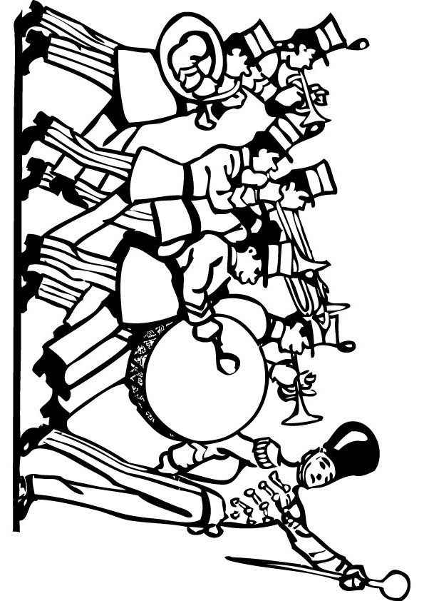 band coloring pages band free coloring pages