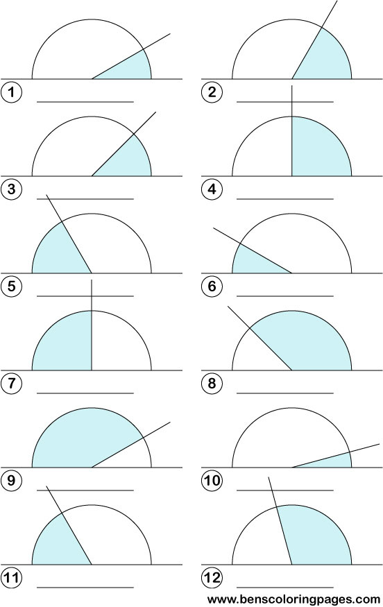 Acute And Obtuse Angles Worksheets | ABITLIKETHIS