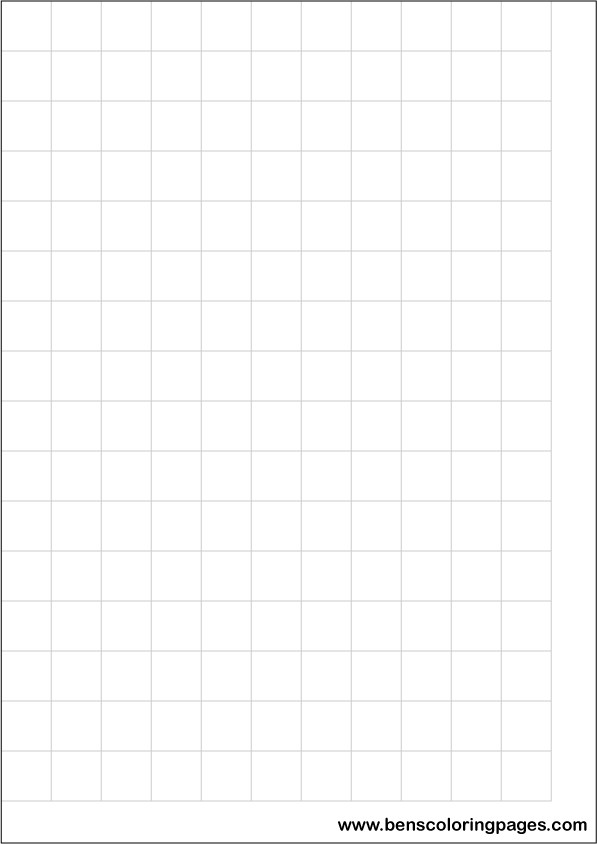Printable large square grid