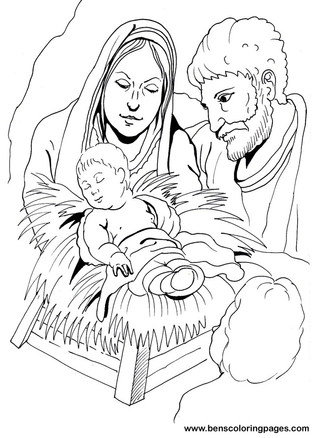 baby jesus nativity of baby jesus in a manger coloring page baby