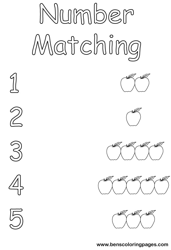 matches coloring page