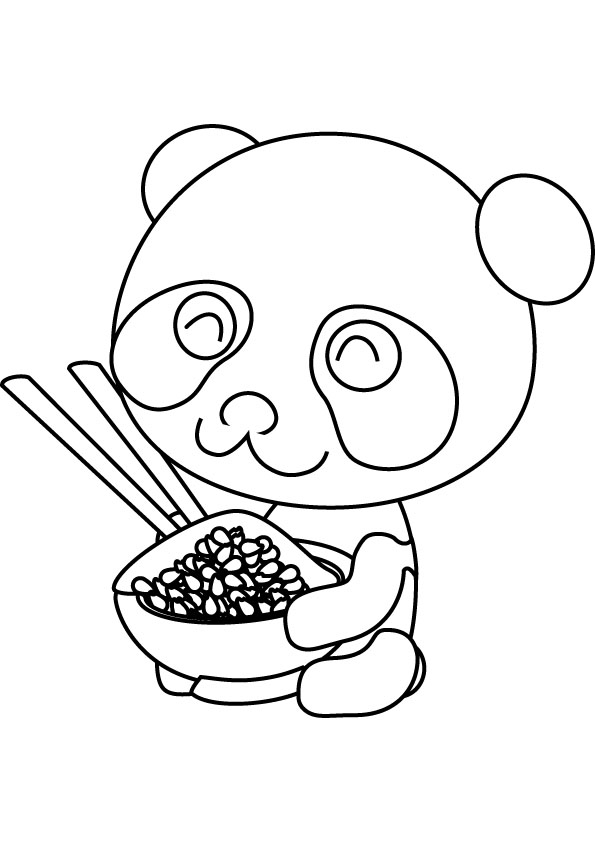 Panda Printable Coloring Pages Panda Coloring Page