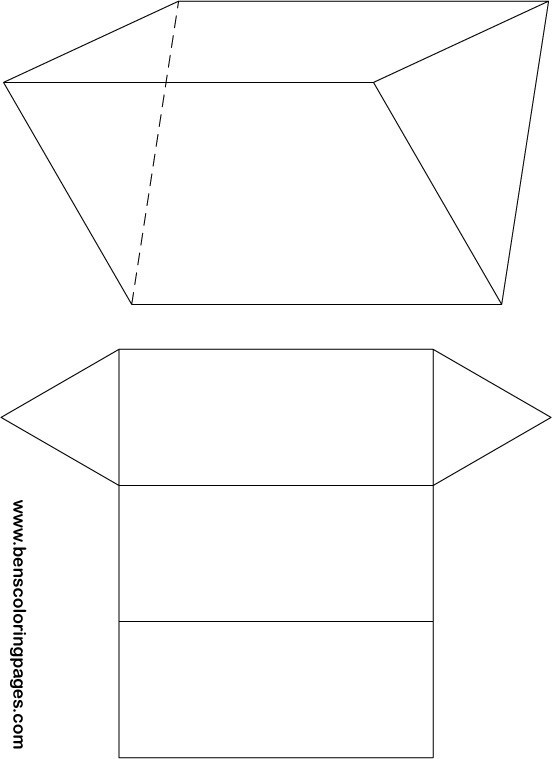 triangular prism net excercise