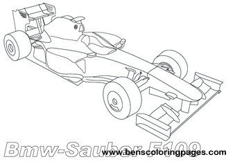 Bmw Z4 Track on ferrari cars coloring sheets