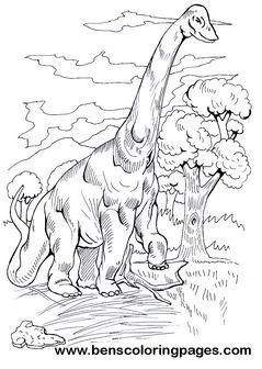 Brachiosaurus cute dinosaur picture