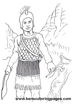Celt iberian infantry warrior children coloring pages