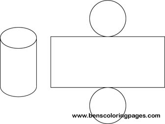graphic regarding Cylinder Net Printable named Free of charge powerful styles website of a cylinder.