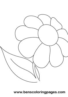 Daisy online coloring book