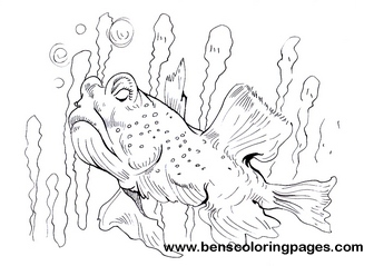 goby coloring for kids