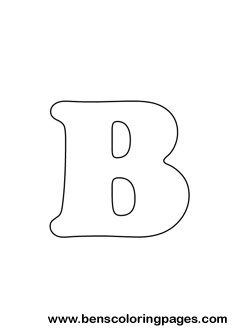 letter B drawing
