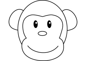 Bongo Monkey drawing picture