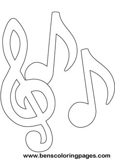 music notes coloring book music notes coloring picture