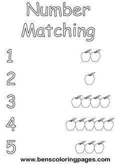 maths coloring sheet