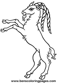 Long horn sheep coloring pages ~ Ram coloring pages