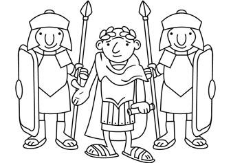 Romans coloring pages online