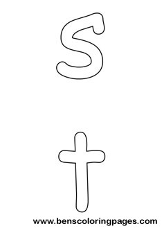 s and t preschool coloring pages