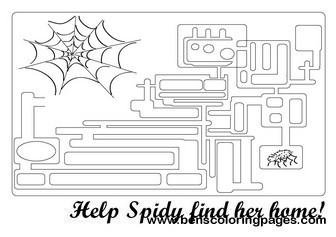 free spider funny games for kids