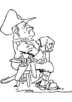 theodore roosevelt coloring page - teddy roosevelt coloring pages animal pictures