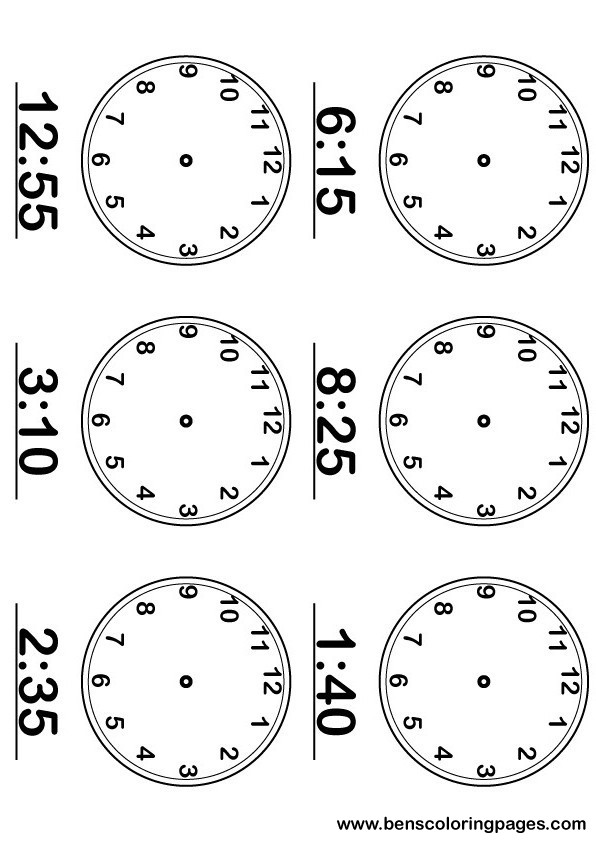 Clock learning with large and numbered clocks